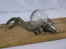 Antique Glass Ball Liquid Soap Dispenser WATROUS disinfecting Vintage #5 School