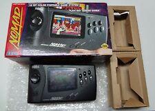 Megadrive Md System Nomad (Us Version) Sega Japan  No Manual