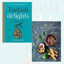 Turkish Delights,Mezze 2 Books Collection Set HardCover Brand New Pack