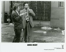 MICKEY ROURKE DIRECTOR ALAN PARKER ANGEL HEART 1987 VINTAGE PHOTO ORIGINAL #3