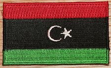 LIBYA 1951-1969 Country Flag Embroidered PATCH Badge