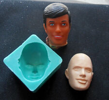 Silicone Mould MALE FACE Sugarcraft Cake Decorating Fondant / fimo mold