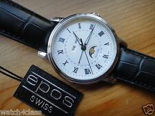 EPOS Emotion Mechanical self-winding moon Moonphase date-pointer 3391 see-thru