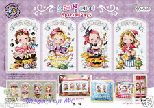 Special Day - Cross stitch pattern book. Big Chart. SODAstitch SO-G69