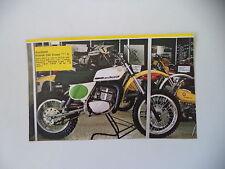 - RITAGLIO DI GIORNALE ANNO 1975 - MOTO ANCILLOTTI SCARAB 250 CROSS