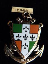 INSIGNE MILITAIRE Pucelle Armée Arthus Bertrand 11° RAMA ARTILLERIE MARINE