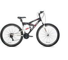 29 in Kent DS Flexor Men's Dual Suspension Mountain Bike Black Bicycle Exercise