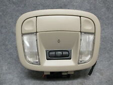 1997-1999 Cadillac DeVille Dome Light Lamp w/ Home Link Switches Shale OEM 22854