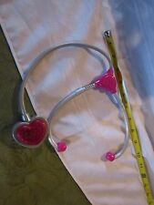 Fisher Price Doctor Dr. Nurse Medical Kit stethoscope Little Mommy heart sounds