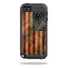 Skin Decal Wrap for LifeProof iPod Touch 5th Gen Case sticker Vintage Flag