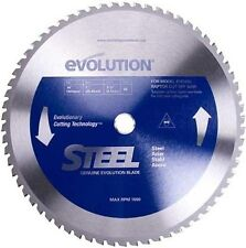 Evolution raptor 355mm x 66T TCT steel cutting saw blade cold cut