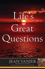 Life's Great Questions by Jean Vanier (2015, Paperback)