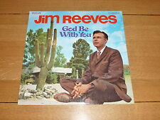 JIM REEVES - God Be With You - 1971 UK 12-track stereo vinyl LP