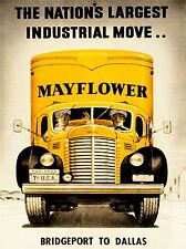 ADVERT REMOVAL COMPANY YELLOW TRUCK VAN TRANSPORT USA ART POSTER PRINT LV248