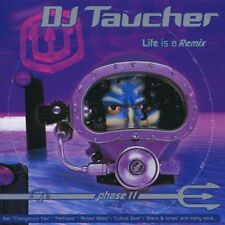 DJ Taucher Life is a Remix Phase II 2CD in vgc RARE