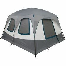 ALPS Mountaineering Camp Creek 6 Two Room Tent: 6-Person 3-Season Tent Coal/Deep