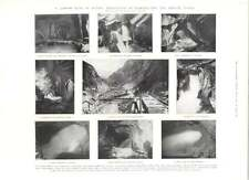 1905 Difficulties Of Constructing The Simplon Tunnel