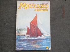 VINTAGE MECCANO MAGAZINE FROM MARCH 1952