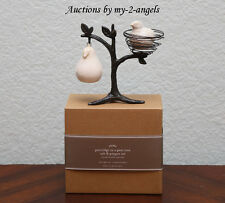 NEW IN BOX Pottery Barn Christmas PARTRIDGE IN A PEAR TREE Salt & Pepper Shakers