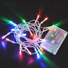 1-10M 10-80 LED String Fairy Lights Christmas Xmas Party Decoration MULTI-COLOR