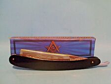 Masonic Straight Razor knife Mason Shaver