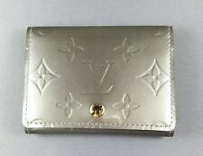 LOUIS VUITTON VERNIS MONOGRAM BUSINESS CARD CREDIT CARD HOLDER WALLET