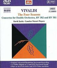 Vivaldi - The Four Seasons/Concertos for Double Orchestra, DVD/audio RV 581/582