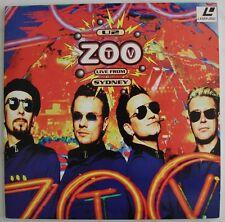 U2  Zoo TV  Live from Sydney  Australia  Bono  1994  Concert   2-Laserdisc Set
