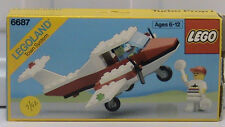 NEW Lego Classic Town 6687 Turbo Prop l LEGOLAND Sealed Airport 1987'