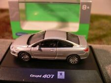 1/87 Welly Peugeot 407 Coupe silber 73111