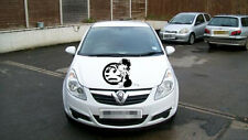 Betty Boop vauxhall bonnet side door girls vinyl graphics decal car sticker fun