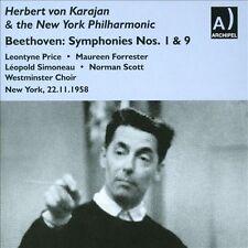 L.V. Beethoven - Symphonies 9 1 & 5 [CD New]