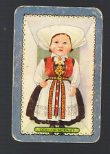Playing Swap Cards 1 Single  Coles  NAMED  DOLL   OF  NORWAY