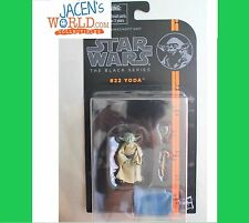 Yoda #22 : Star Wars Black Series 3.75 inch Action Figure Jedi Training Wave 5