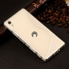 Soft S-Style Gel TPU Silicone Case Skin Cover For Sony Xperia Mobile Phone