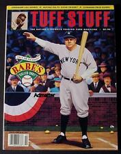 BABE RUTH YANKEES NRMT TUFF STUFF 1992 INCLUDES LG SPORTS CARD PHOTO! PRICE BOOK