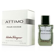 ATTIMO POUR HOMME BY SALVATORE FERRAGAMO 1.3 OZ EDT SPRAY FOR MEN NEW SEALED