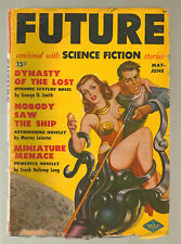 Future Combined With Science Fiction #1 GGA Brass Cone Bra Space Ray Gun 1950 R