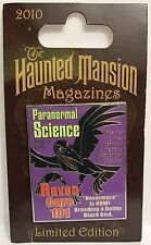 Disney - Haunted Mansion Magazines - Paranormal Science The Raven LE 2500 Pin