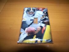 PITTSBURGH STEELERS BEN ROETHLISBERGER LIGHT SWITCH PLATE #7