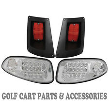 EZGO RXV Golf Cart LED Headlight & Tail light Kit 2008-UP Gas and Electric
