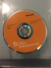 Microsoft Office 2010 Professional 32/64 Retail Version 1 User/1 PC (Genuine)