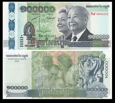 Cambodia 100000 100,000 Riels, 2012, P-62, UNC