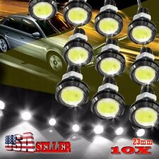 10 X 23mm Eagle Eye LED DRL Lights Car Daytime Reverse Signal Bulbs White 12V 9W
