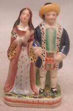 Staffordshire Pottery Figure  - Henry VIII & Wife