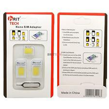 3 En 1 Nano Sim Card Adaptador Nano A Micro Y Micro A Normal Para Iphone 4 4s 5