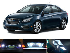 LED Package - License Plate + Vanity + Reverse for Chevrolet Chevy Cruze 8 Pcs
