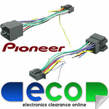 Pioneer 16 Pin to ISO 2010 Onwards Car Stereo Radio Replacement Wiring Harness