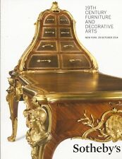 Sotheby's 19th C. Furniture & Decorative Arts Auction Catalog October 2014