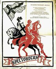 KNIGHTS OF THE TEUTONIC ORDER 1960 Aleksander Ford Federov RUSSIAN POSTER